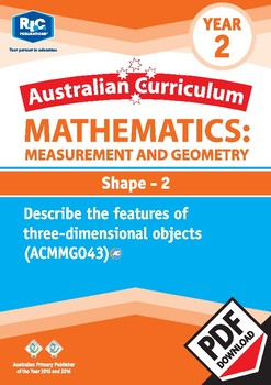 Measurement and Geometry: Shape 2 – Year 2