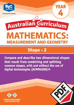 Measurement and Geometry: Shape 2 – Year 4