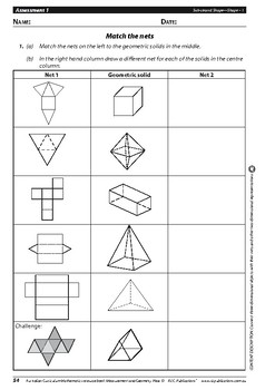 Measurement and Geometry: Shape – Year 5