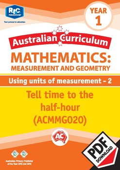 Measurement and Geometry: Using units of measurement 2 – Year 1