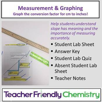 Chemistry Activity: Measurement and Graphing Activity