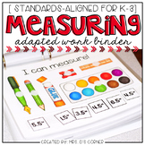 Measurement and Graphing Adapted Work Binder