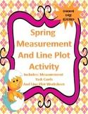 Measurement and Line Plot Activity - Common Core CCSS.3.MD