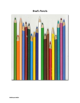 Measurement and Line Plot with Brad's Pencils