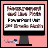Measurement and Line Plots Math Unit 2nd Grade Common Core