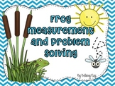 Measurement and Problem Solving with Frogs and Toads
