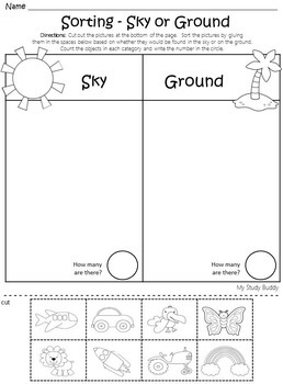 Measurement and Sorting (Kindergarten Math)