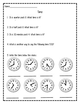 Measurement and Time