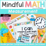 Measurement and Time - Kindergarten