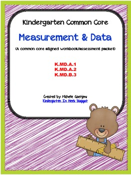 Measurement common core assessment and workbook