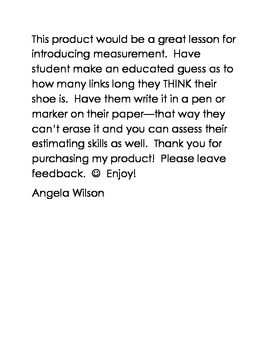Measurement for Early Learners