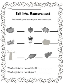 Measurement for Fall!