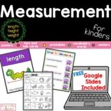 Measurement, Length, Height, Weight, Printable and Bonus GOOGLE SLIDES™