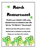 Measurement for March
