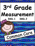 Measurement for Third Grade