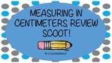 Measurement in Centimeters Review Scoot!