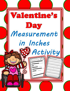 Measurement in Inches Valentine's Day