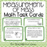 3rd Grade Measurement of Mass Task Cards | Grams and Kilograms Math Center
