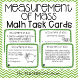 3rd Grade Measurement of Mass Task Cards | Grams and Kilog