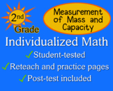 Measurement of Mass and Capacity, 2nd grade - worksheets - Individualized Math