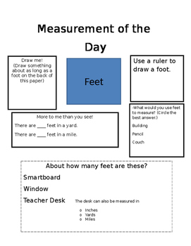 Measurement of the Day Bundle