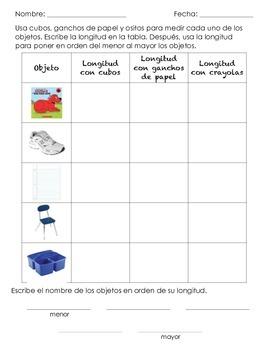 Measurement practice in SPANISH