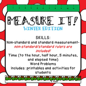 Measurement (standard, non-standard and time)