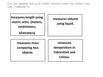 Measurement tools flipbook