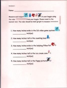 Measurement unit worksheet 1