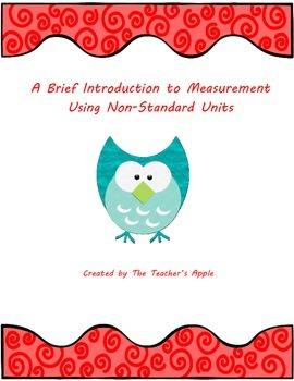 Measurement using Non-Standard Units