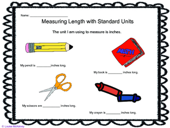 Measurement weight and length