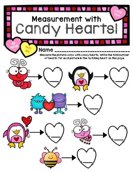 Measurement with Candy Hearts