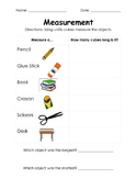 Measurement with Cubes