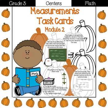 Measurements Task Cards {Grade 3 Module 2}