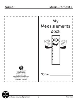 Measurements Mini-Book