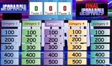Measurements and Calculations Review Game, Jeopardy, High School Chemistry
