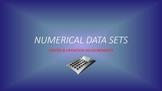 Measurements of Center & Variability: Single Value Summarization