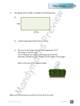 Measures Workbook - Worksheet Booklet - Level 1 (with answers)