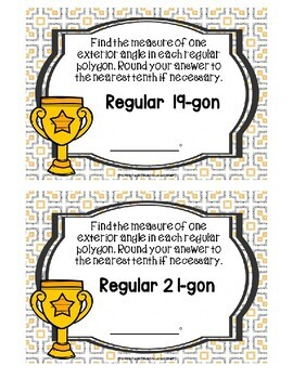 Measures in Polygons Level 2 Boom Cards--Digital Task Cards