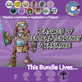 Measures of Center & Data Analysis -- Pre-Algebra Curriculum Unit Bundle