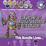 Measures of Center & Variance -- Pre-Algebra Curriculum -- Essential Unit Bundle