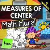 Measures of Center - Math Mural