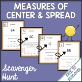 Measures of Center and Spread Activity (6th Grade) - Scave
