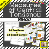 Measures of Central Tendency BINGO Game