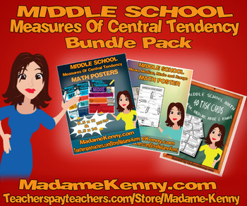 Measures of Central Tendency Bundle