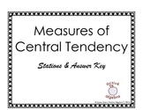 Measures of Central Tendency Critical Thinking Stations