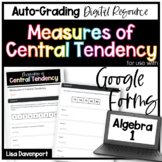 Measures of Central Tendency- Homework for use with Google Forms