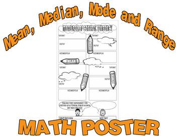 Measures of Central Tendency Math Worksheet