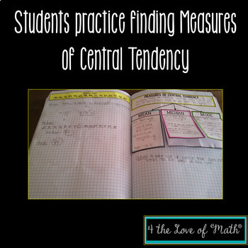 Measures of Central Tendency {Mean, Median, Mode} INB Page