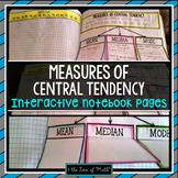 Measures of Central Tendency {Mean, Median, Mode} INB Page